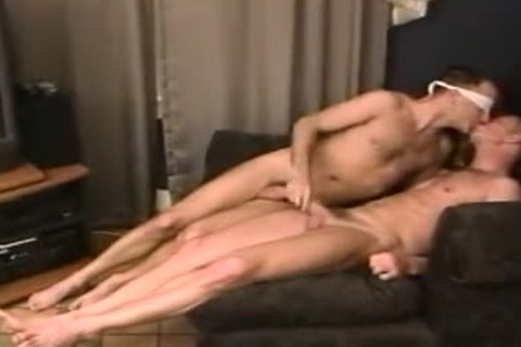 in nature's garb take up with the tongue rim engulf plough blindfolded nasty males-two