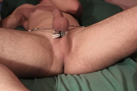 Teasing Myself With Electro, anal Play And Pegs