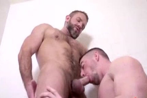 Dirk Caber pounds Scott Hunter's wazoo At Alpha Males