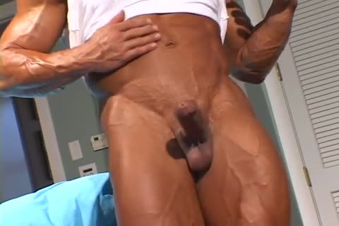 lustful muscular guy disrobes And Jerks Off