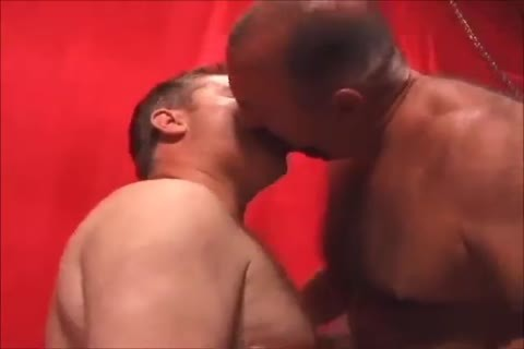 Two sexy Daddies nailing