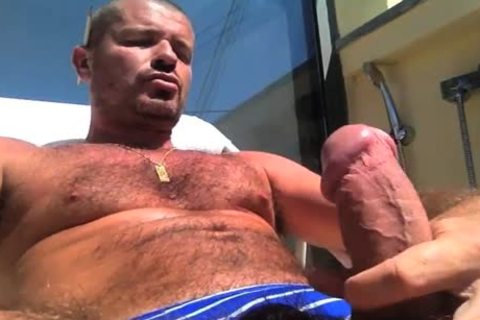 TIERY B. // PHOTO-PORNO-GRAPHER - Copyright / sleazy chap Servicing And Worshiping A large schlong In Summer's Heat