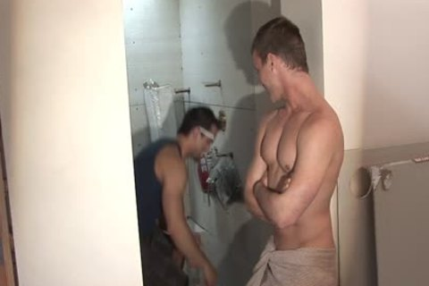 palatable homo Worker Getting fucked And came