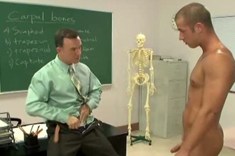 lovely homosexual engulf Teachers large Phallus In Classroom
