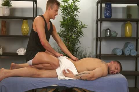 Austin Wolf And Skylar West In A concupiscent homo Porn Massage