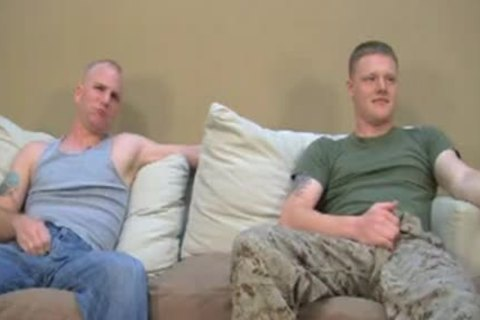 Two straight Marines Have Gaysex For specie