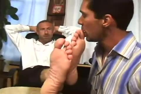 Worship Angry Boss gigantic Feet