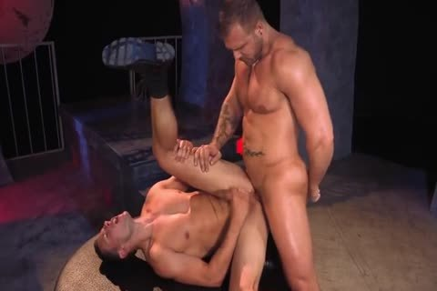 Austin Wolf  Uses Brenner's throat & a-hole