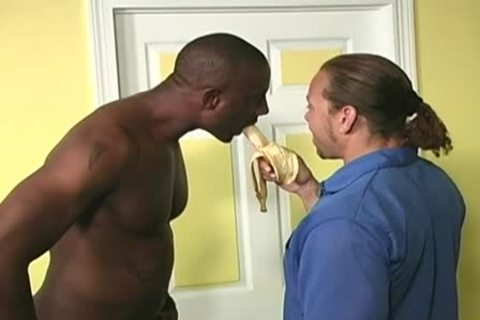 White Neighbour acquires assfucked By darksome Workers