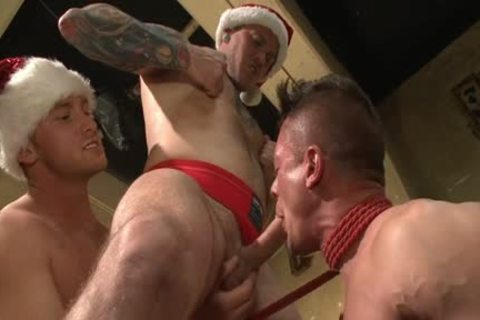 Muscle homo bound With sex cream flow