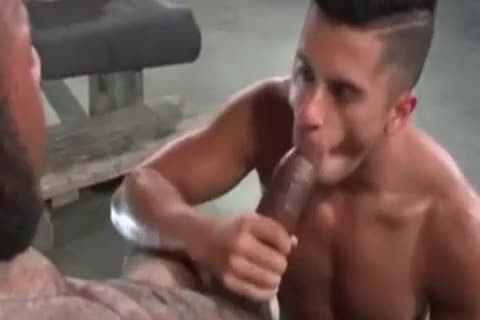 A Very juicy Latino homosexual chap Likes Some rough Greek From A thick African Shaft
