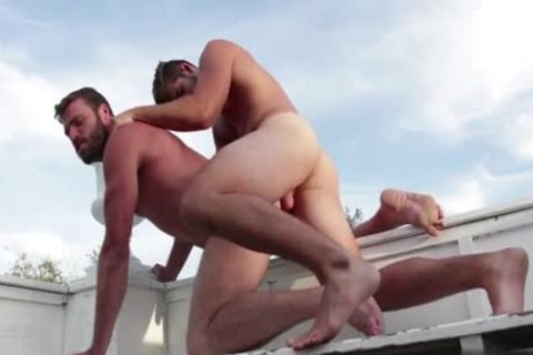 curly gay Flip Flop And ejaculation
