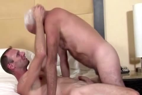 big penis Daddy In Action