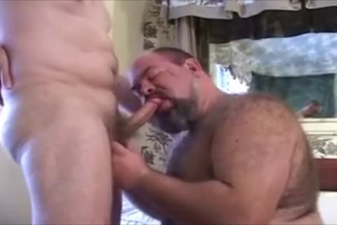large hairy Chub Bear And Daddy Have Some pleasure.