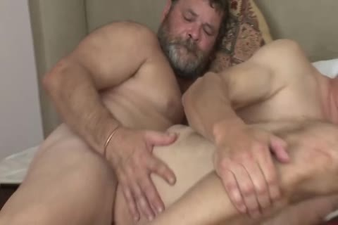 banging An old dad bare