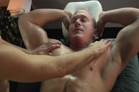 Muscle gay irrumation And Massage