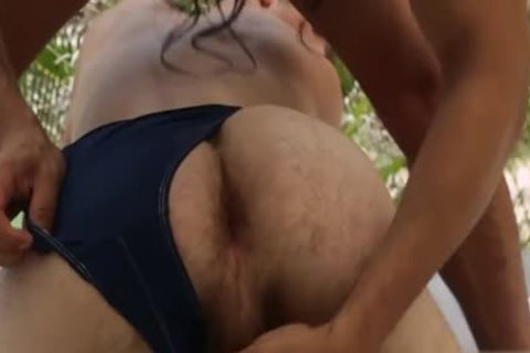 Latin homo Gaping With ejaculation