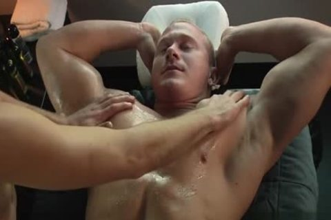 Muscle homosexual irrumation And Massage