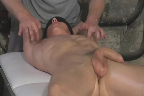 A young man gets pleasured By An old man