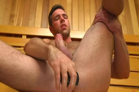 Muscle homosexual dildo With sperm flow