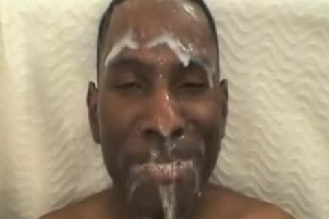 dark man Drowned With White ball batter