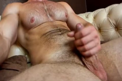 hairy Euro Hunk Cums On web camera
