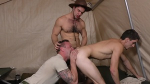 Drill The Sergeant - Damien Kyle and Tanner Tatum Hunk pound