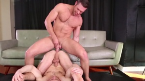 Mix It Up - Dylan Knight and Alex Mecum butthole sex
