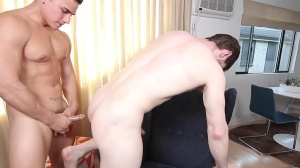 The Married Bottom - Dennis West and Topher Di Maggio butthole Nail