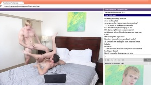 The Chat Room - Cameron Foster with Brandon Moore anal Nail