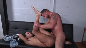Virgin Hunter - Charlie Harding & Ricky Decker butthole poke