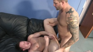 sex goo Bank - Colby Jansen & Travis James anal fuck