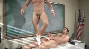 Hazing Bust - Rocco Reed with Joey Cooper butthole Hook up