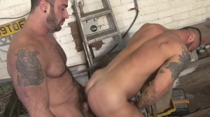 Late For Work - Spencer Reed with Alex Marte anal poke