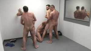 The Line Up - Landon Conrad and Trevor Knight anal Hump