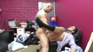 Law And Hoarder - John Magnum and Bryce Star ass Hump