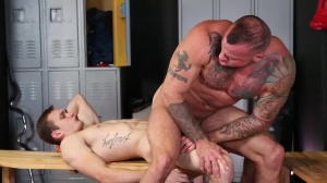 Confessions Of A Straight dude - Sean Duran and Jackson Traynor butt Nail