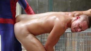 Spiderman : A homo XXX Parody - Aston Springs and Will Braun anal Love