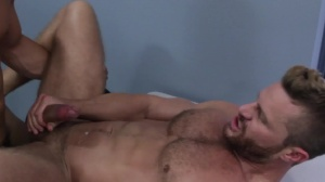 Gaywatch - Landon Conrad and Topher Di Maggio butthole screw