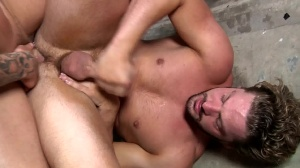 Fire Drill - Sebastian young and Andrew Blue butthole sex
