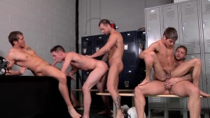 Football Fuckdown - ramrod Daily and Johnny Rapid butthole Love
