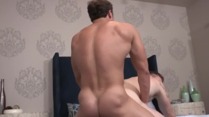 Brandon & David: bareback - anal enjoyment