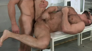 Defiance - Paddy O'Brian with Victor D'Angelo butthole pound