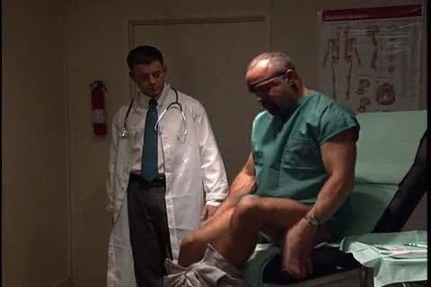 homo Medicals.  Threesomes, And Sounding In Last Scene