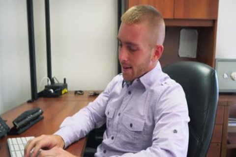 GRAB arse - Scott Riley Is The perfect Employee, Always Working Hard To Please The Boss