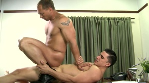 Paying The Debt - John Magnum with Topher Di Maggio ass slam