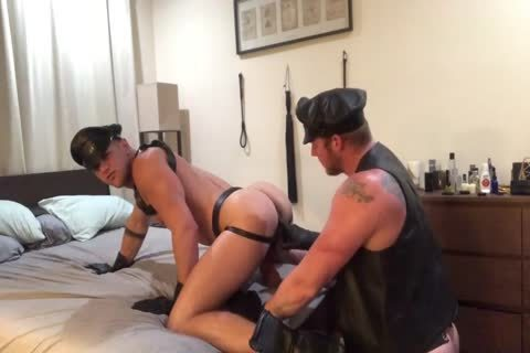 A couple's Leather sexual dream