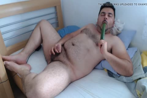 Licked Alternative vibrator, With concupiscent semen flow
