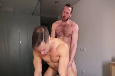 Ginger Daddy plows Russian man Hard!
