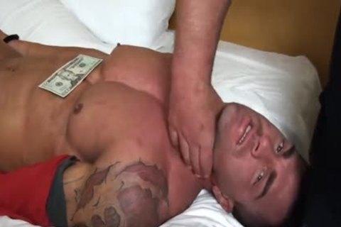 Braden Charron Hogtied And undressed